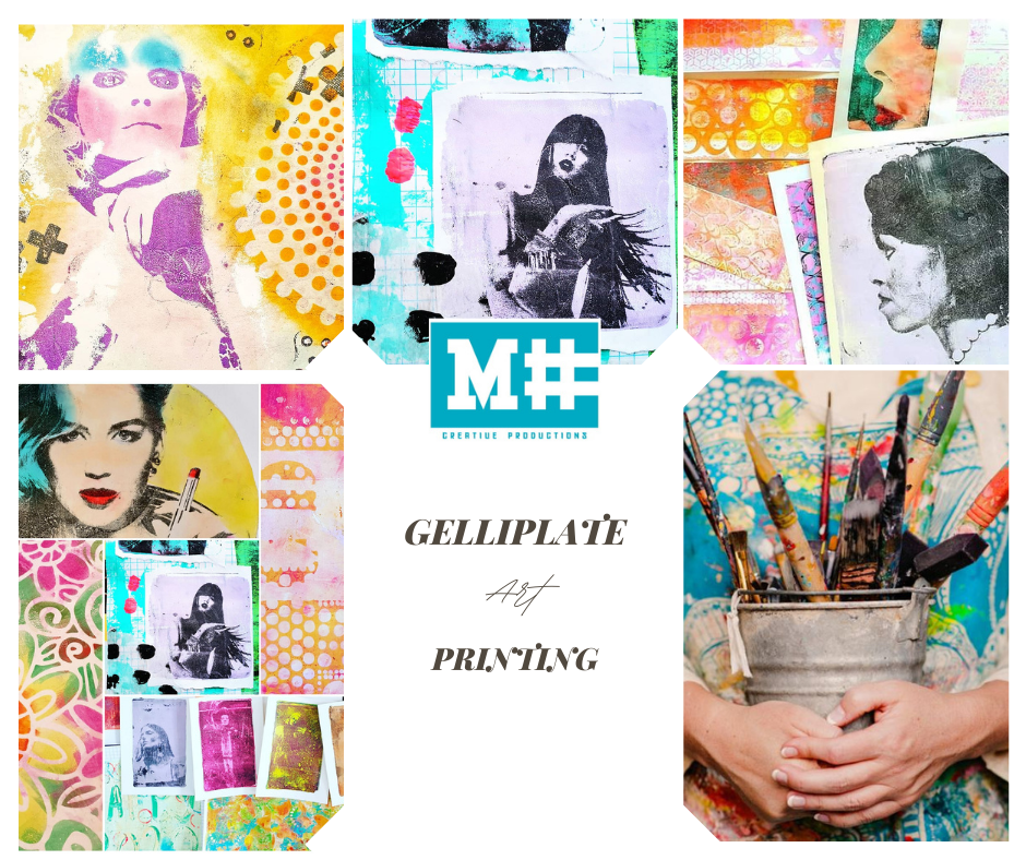 workshop Gelli printing